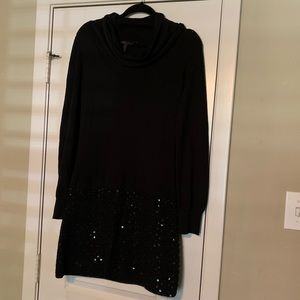 BCBG Sweater Dress with Sequins!